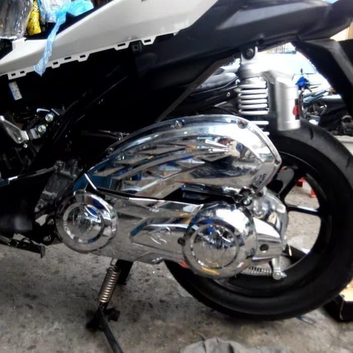 Chrome CVT and Airbox for Aerox, Motorbikes, Motorbike