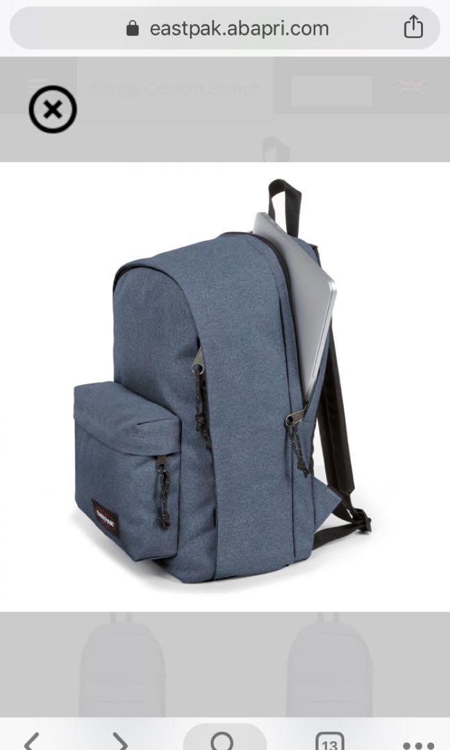 e8209201f1642 Eastpak Back To Work Eat Lobster Backpack