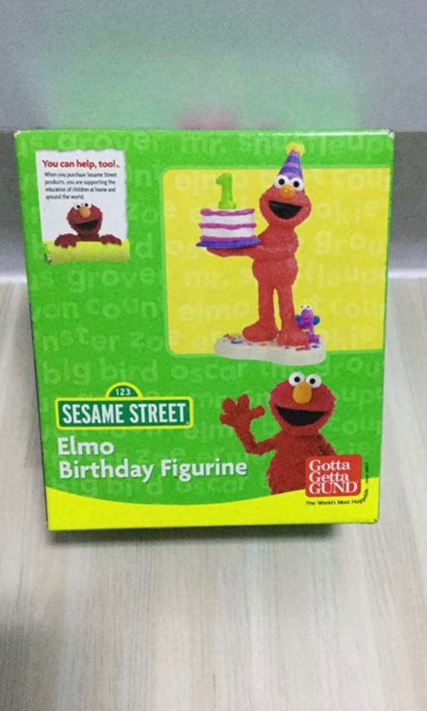 Elmo Cake Topper Candle Everything Else On Carousell