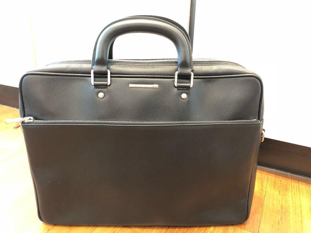 851696da Ermenegildo Zegna Men's Office Briefcase [Authentic], Men's Fashion ...