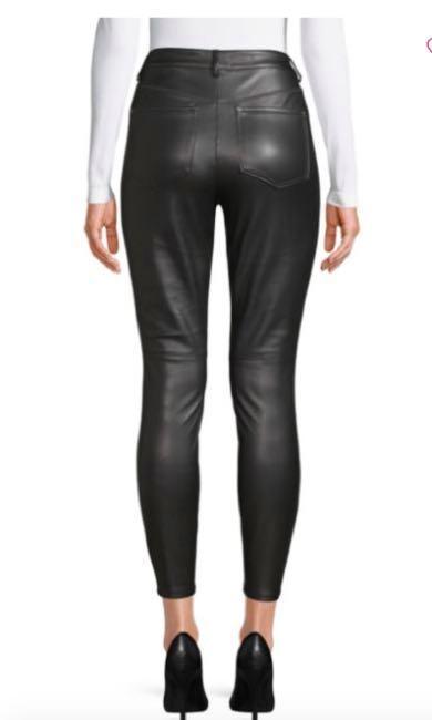 Free People Vegan Leather Pants NWT 28