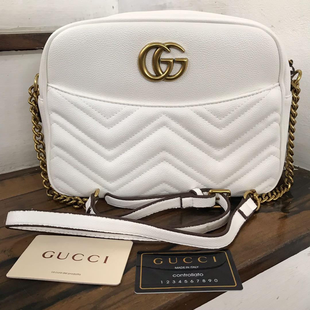 0bf0350f999 Gucci Marmont Medium Matelassé Shoulder Bag