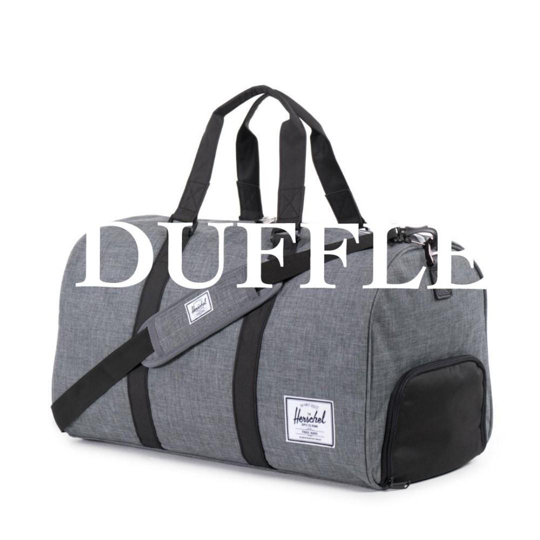 e83f477d99a Herschel Supply Novel Duffle Bag Weekend Bag Gym Bag 42.5L