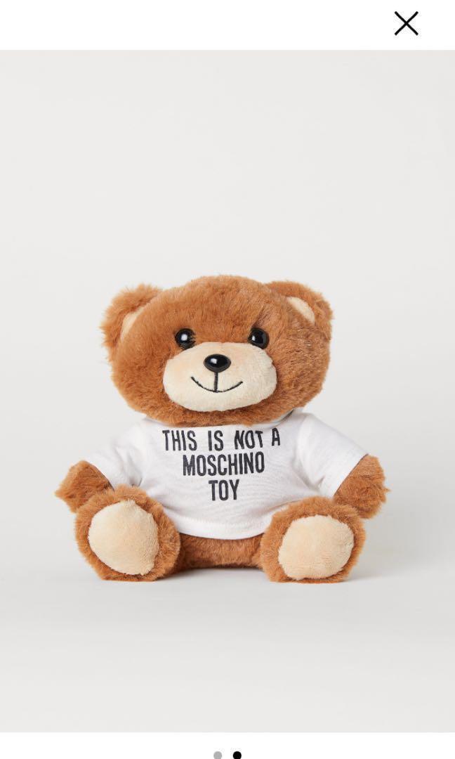 low priced da507 88cda H&Moschino Teddy Bear Phone Case