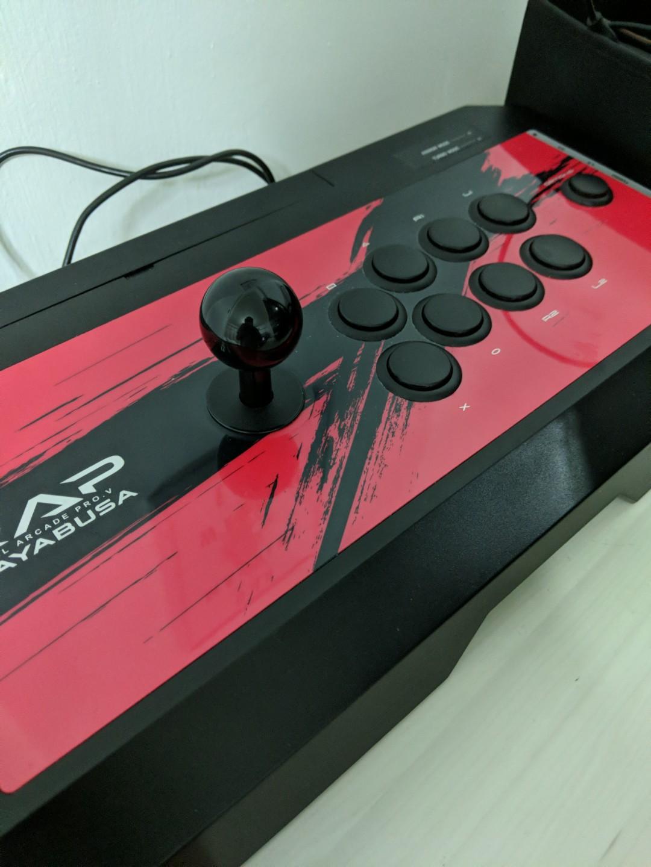 Hori fightstick RAPV hayabusa, Toys & Games, Video Gaming