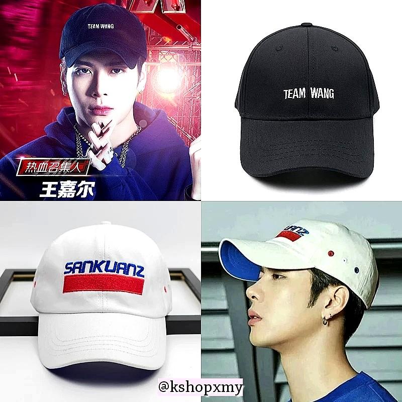 Jackson Wang   Team Wang       Sankuanz   Duplicate Cap d7ee53ab8de7