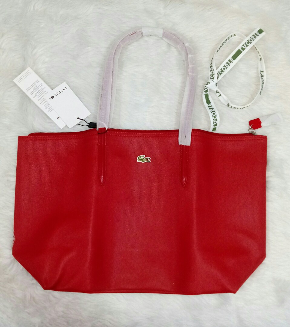 b9093d018a 🎄 LACOSTE.. Tote Bag, Women's Fashion, Bags & Wallets on Carousell