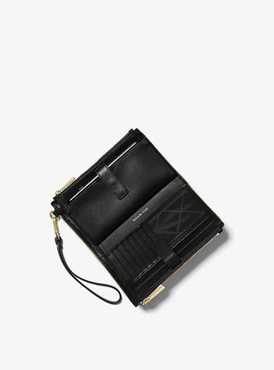 e9ab28bac3b5 Michael Kors Adele Framed Leather Smartphone Wallet