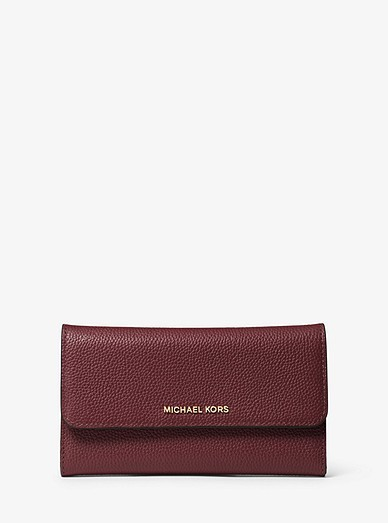 ae86bc5fcd6b4 Michael Kors Mercer Tri-Fold Leather Wallet