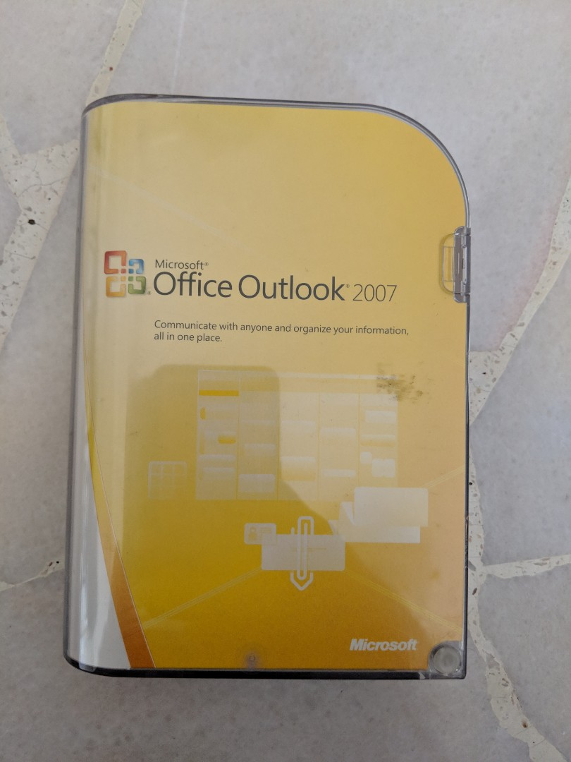 Microsoft Office Outlook 2007 1212 Electronics Computer Parts
