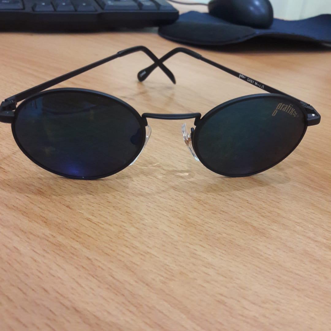 New Kacamata Hitam Bobo Ho Bulat Metal Import 8c386dd72e