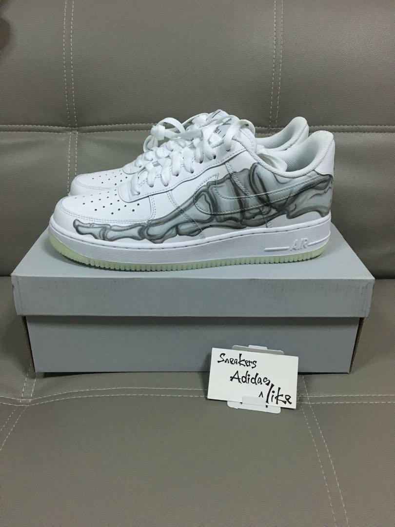 reputable site 7c96c 52741 Nike Air Force 1  07 Skeleton QS, Men s Fashion, Footwear, Sneakers on  Carousell