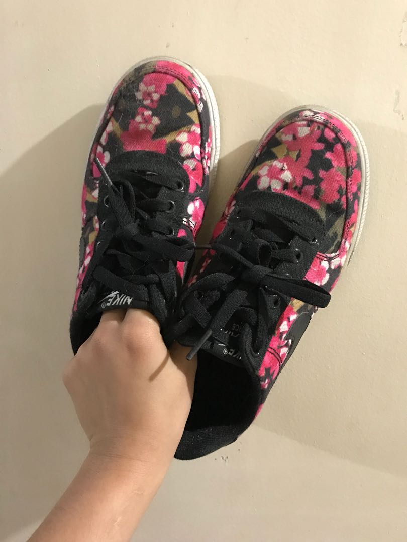 "purchase cheap 4957f 0b6e1 Nike Air Force 1 AC GS ""Floral"", Men s Fashion, Footwear, Sneakers ..."