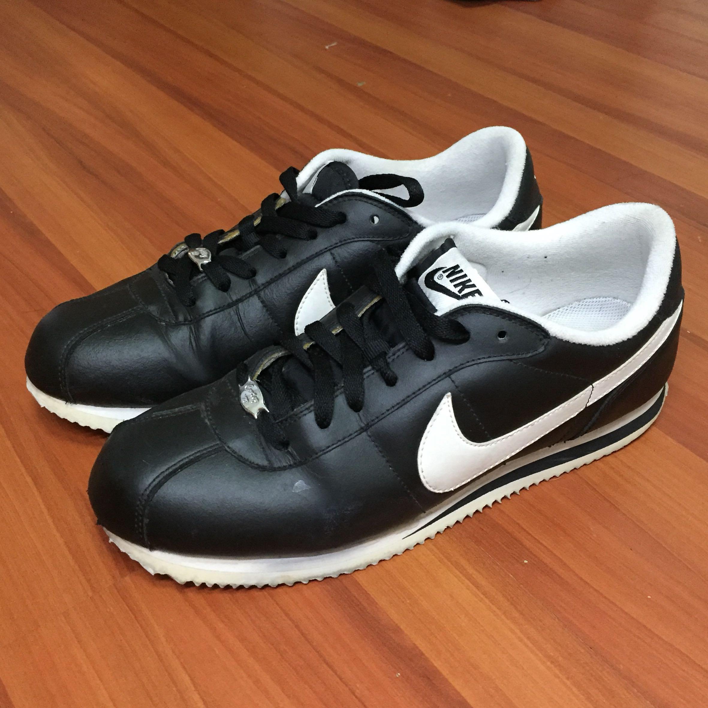 Nike Cortez Black, Men's Fashion
