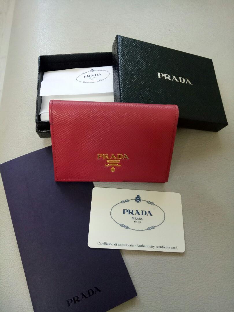 67adde890cbd Prada Wallet, Women's Fashion, Bags & Wallets, Wallets on Carousell