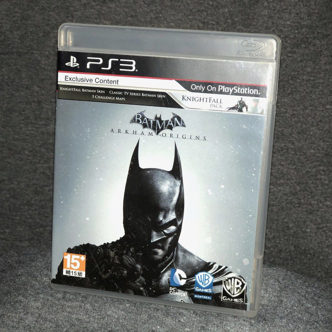PS3 Batman: Arkham Origins game
