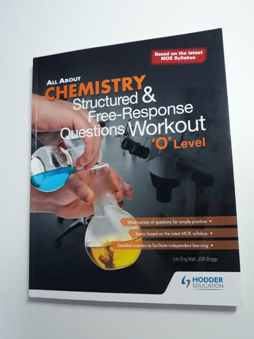 Pure Chemistry Structured & Free-Response Questions Workout