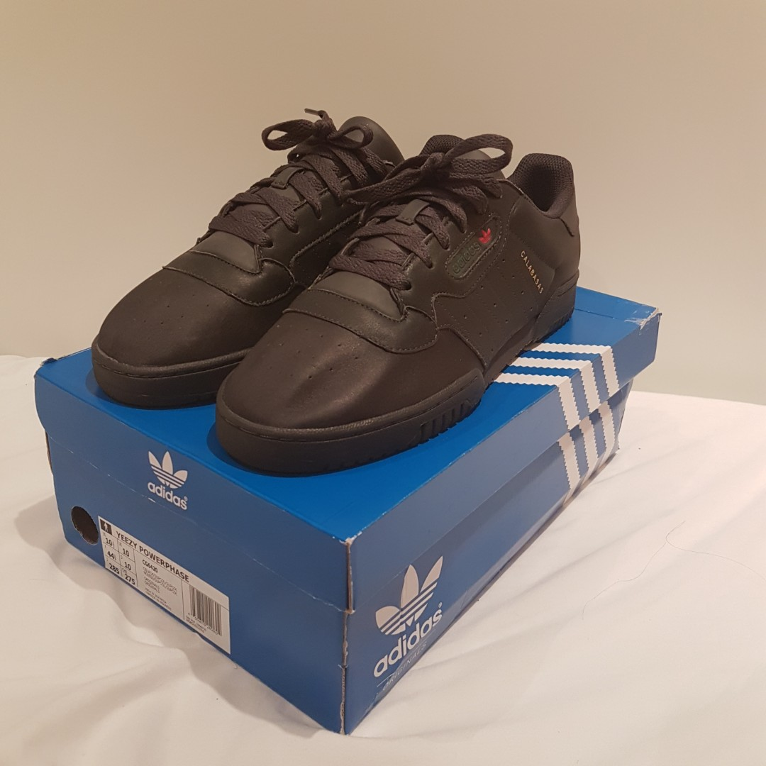940dce600 Steal  Yeezy Powerphase Calabasas black us10.5