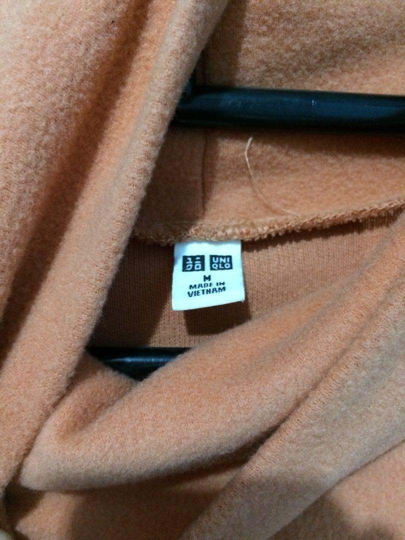 Sweater UNIQLO Orange ORIGINAL