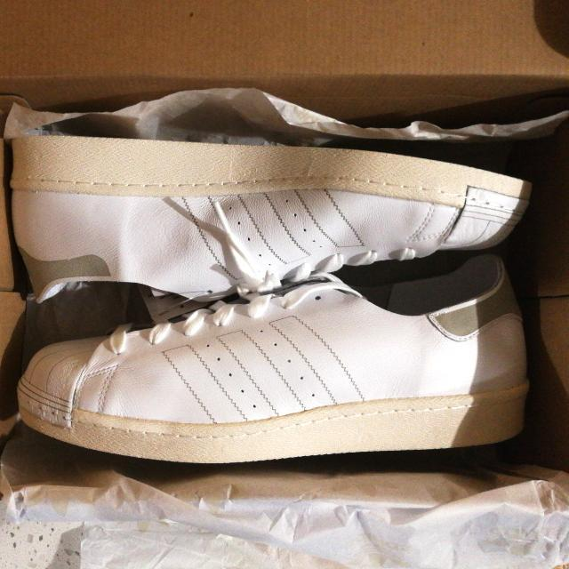us 13.5 adidas superstar 80s decon shoes, Men's Fashion