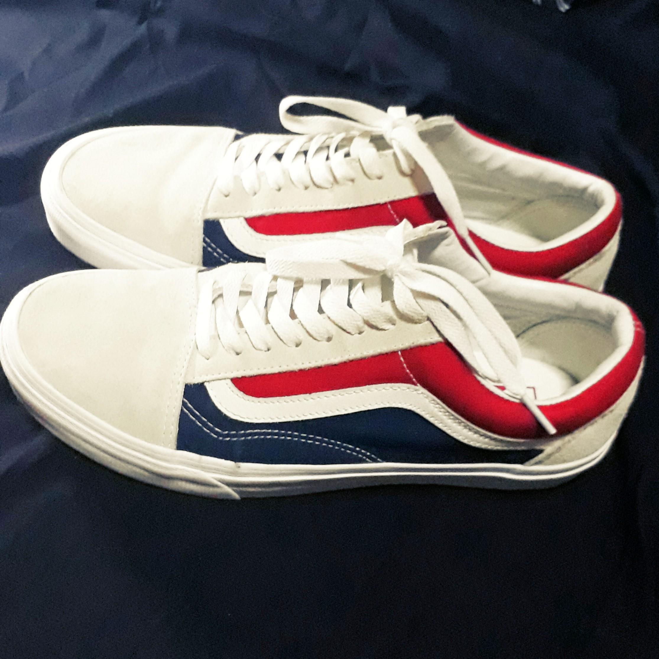 fd5e2615712728 Vans Old Skool retro block - tri color shoes