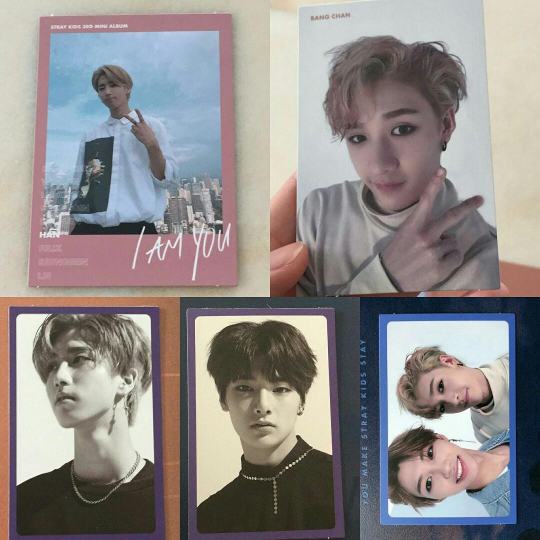 WTT Stray Kids I AM YOU Photocards, Entertainment, K-Wave on