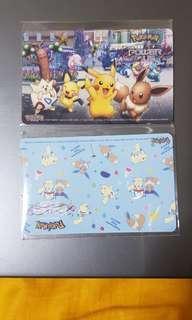 Pokemon the movie Design 1 and 2
