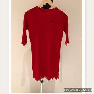 NEW-Red Dress