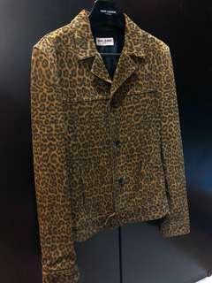 Saint Laurent Paris SS 2015 leather jacket