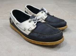 bc9f08466232 Pre-loved Authentic Sebago Boat Shoes for Men size US 7.5 in Dark Blue and