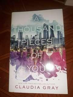 A tbousand pieces of you by claudia gray