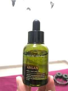 NATURE REPUBLIC - Argan Real Nature Oil (30ml)