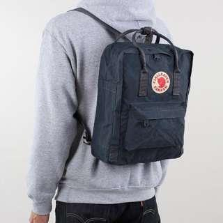 Fjallraven Kanken Classic School Bag Backpack in Navy Blue [Instock!!]
