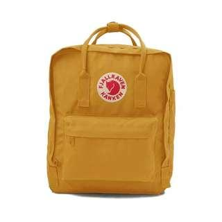 Fjallraven Kanken Classic School Bag Backpack in Yellow Mustard [Instock!!]