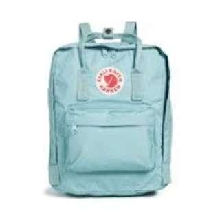 Fjallraven Kanken Classic School Bag Backpack in Light Blue [Instock!!]
