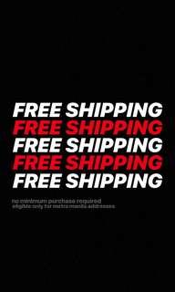 FREE SHIPPING FOR ITEMS PRICED 200 AND ABOVE