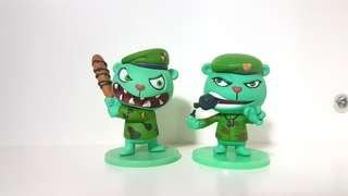 Happy Tree Friends Flippy Figurines