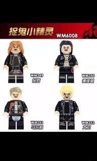 The Lost Boys Minifigures