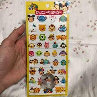 Tsum Tsum schedule seals Stickers