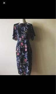 Zalora floral midi dress