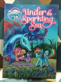 My Little Pony - Under the Sparkling Sea book