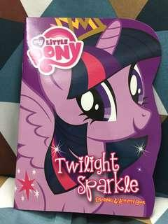 Twilight Sparkle Colouring & Activity Book - My Little Pony