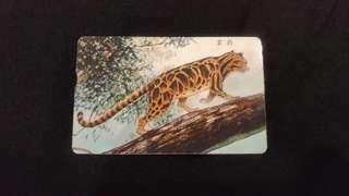 🚚 收藏級IC電話卡—臺灣雲豹