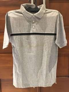 Grey mens Polo Shirt