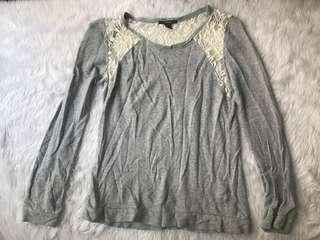 Forever 21 Lace Sweater