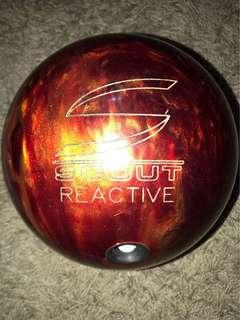 Columbia 300 Scout Reactive 12.10lbs RH Reactive Ball (For Sale....or Trade witg Ipad Mini)