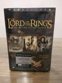 Lord of the Rings LOTR Trilogy DVD Boxset New