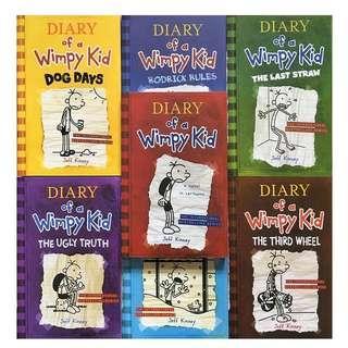 Wimpy Kid 7 books