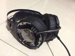 電競耳機9成新
