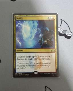 Magic The Gathering - Ionize Instant Card
